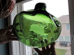 Amazing glass fishing floats found