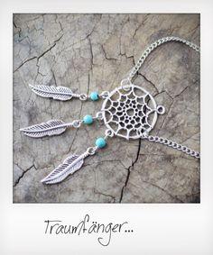 Traumfänger Armkette Silber Dreamcatcher