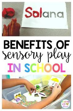 Thinking about incorporating sensory activities into your classroom? Read about the 5 benefits of sensory play, and grab some ideas to get you started!