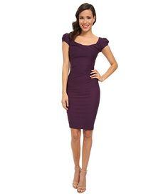 Stop Staring! Elegant Cap Sleeve Dress