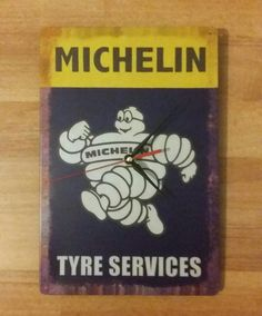 Wall+Clock+Michelin