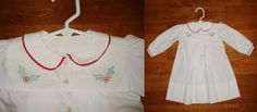 """""""Precious Baby Daygowns - square yoke collection"""" a Martha Pullen Publication with holly shadow embroidery."""
