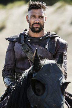 Manu Bennett as Allanon on the set of 'The Shannara Chronicles'
