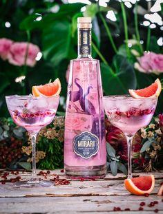 50ml Mirari Pink Gin Premium Indian Tonic Water Grapefruit, pomegranate &  rosemary to garnish