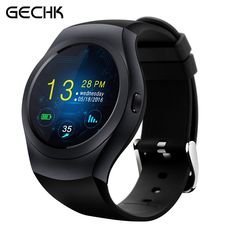 68.99$  Buy now - http://alibjr.worldwells.pw/go.php?t=32755661308 - Newest KS2 Bluetooth Smart Watch MTK2502C Full Round Touch Screen Support SIM TF Card Smartwatch Wearable Device for IOS Android 68.99$