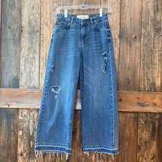 studio only Jeans | Studio Only 34 Highwaist Raw Hemdenim Culotte | Poshmark Only Jeans, Colored Jeans, Bell Bottom Jeans, Polka Dots, Studio, Denim, Pants, Outfits, Things To Sell