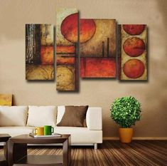 Acrylic Painting Tips, Simple Acrylic Paintings, Hanging Canvas, Canvas Wall Art, Drip Art, Art Drawings Sketches Simple, Naive Art, Living Room Paint, Triptych