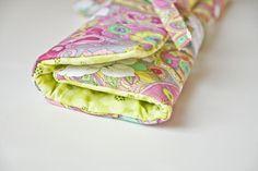 Lella Boutique: Knitting Needle Organizer tutorial