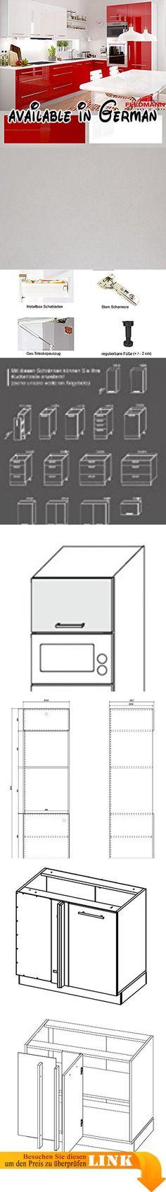 B078V22H1K  Küche Lagerung und Organisation Küche Regal Mikrowelle - küchenwagen mit schubladen