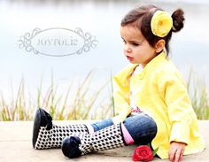 Love the boots, too cute!