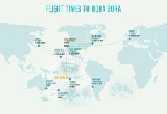 Find a Bora Bora map and directions to Four Seasons Resort ...