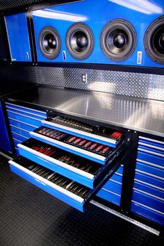Custom Garage Cabinets