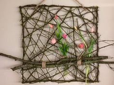 Deco Floral, Floral Design, Small Balcony Design, Ikebana, Plant Hanger, Spring Time, Needle Felting, Greenery, Lily