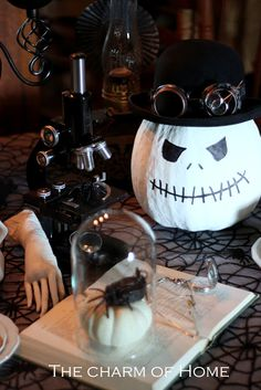 The Charm of Home: Steampunk Halloween