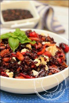 Salade-riz-noir-poivrons grillés-chou-fleur-amandes (5)