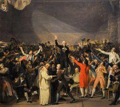 Le 17 juin 1789, les états généraux se proclament Assemblée nationale. Bientôt rejointe par le Clergé et la Noblesse, elle sera la première assemblée parlementaire moderne de l'histoire de France. (herodote.net)