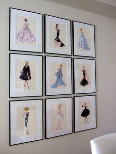Love vintage Barbie Prints!