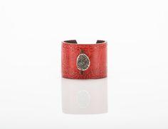cuff ,leather Cuff Bracelets, Bangles, Cuffs, Leather, Jewelry, Bangle Bracelets, Jewellery Making, Bracelets, Jewerly