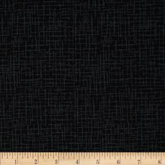 110 In. Wide Quilt Back Betula Black from @fabricdotcom  This 110'' wide quilt backing is perfect for quilt backing, duvet covers, curtains and pillow covers. It features an abstract cross-hatch pattern throughout.