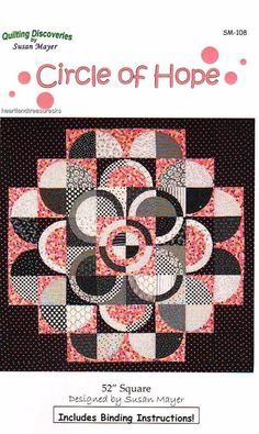 Circle of Hope  Pieced & Applique Wall Quilt Pattern #Unbranded