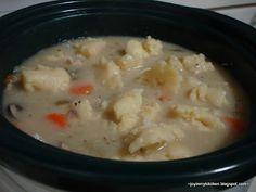 Crockpot Chicken Stew and Dumplings