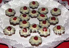 Pudinkové kytičky s vanilkovým krémem