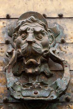 Spain - Door Knocker by Zakalwe2009, via Flickr