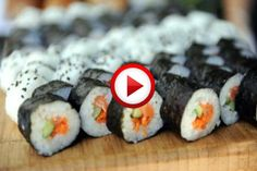 Learning To Make Sushi Video https://apps.facebook.com/yangutu