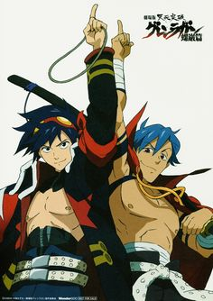 I Love Anime, Awesome Anime, All Anime, Anime Guys, Anime Stuff, Manga Anime, Anime Art, Manga Art, Gurren Lagann Kamina