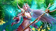 League of Angels II Unveiled Multitudes of HD Sexy Character Wallpapers