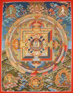 Bhaisajyaguru: Medicine Buddha Mandala