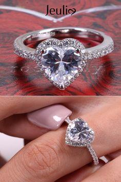 24 Best Gorgeous Jeulia Jewelry Images Unique Earrings Wedding