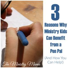 3 Reasons Why Ministry Kids Can Benefit from a Pen Pal – The Ministry Mama