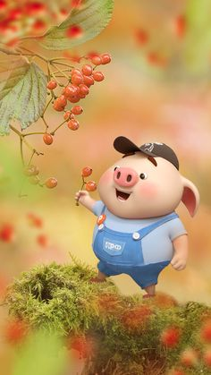 - Best of Wallpapers for Andriod and ios Pig Wallpaper, Cute Disney Wallpaper, Cute Cartoon Wallpapers, This Little Piggy, Little Pigs, Kawaii Pig, Cute Piglets, Small Pigs, Pig Illustration