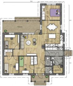 House Floor Plans, Own Home, Sweet Home, Home And Garden, Layout, Flooring, How To Plan, Architecture, Sims