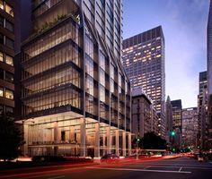 Começam as obras do 425 Park Avenue de Foster + Partners,Lobby. Image © Visualhouse for Foster + Partners