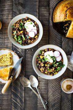 Black Bean & Corn Chili