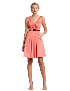 Jessica Simpson Women's V-Neck Belted Cotton Dress  http://ezinepictures.com/jessica-simpson-womens-v-neck-belted-cotton-dress/#