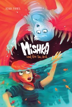 The best way I can describe Mishka and the Sea Devil is whimsical. It's a lighthearted and fun story that never takes it self seriously and is full of simple moral lessons and plenty of imagination. The Ea, Mishka, Fun Comics, Underwater, Board Games, Devil, Movie Tv, Whimsical, Comic Books