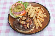 special burger at burger rancho  - Costa Rica