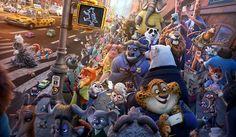 Zootopia Hayvanlar Şehri Animasyon Filmi