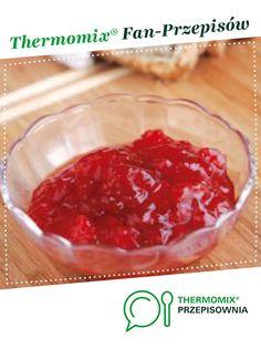 Dżem truskawkowy jest to przepis stworzony przez użytkownika Thermomix. Ten przepis na Thermomix<sup>®</sup> znajdziesz w kategorii Sosy/Dipy/Pasty na www.przepisownia.pl, społeczności Thermomix<sup>®</sup>. Salsa, Pudding, Meat, Ethnic Recipes, Desserts, Thermomix, Tailgate Desserts, Deserts, Custard Pudding