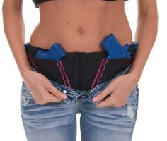 Concealed Carry Hip Hugger Holster for Women by CanCanConcealment, $54.00   AWWW YEAH! @Tori Sdao Lumbatis