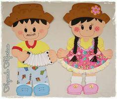Festa junina School Labels, Farm Birthday, Class Decoration, Mehndi Designs, Flamingo, Minnie Mouse, Clip Art, Nursery, Disney Characters