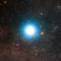 An alien planet discovered around a star in the Alpha Centauri system, the nearest to our own sun