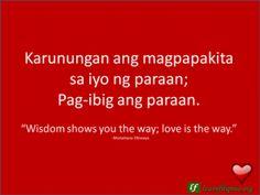 valentine quote tagalog
