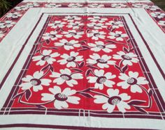 Popular items for vintage tablecloths on Etsy