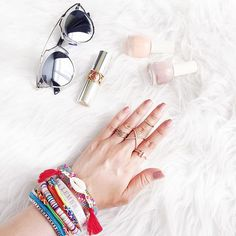 Getting #summer ready with our stackable armcandy and rings :sunny: Click the link in our bio to get yours now // www.#thingseyelove.com