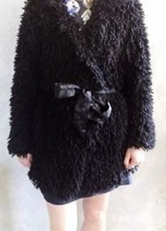 Kup mój przedmiot na #vintedpl http://www.vinted.pl/damska-odziez/szlafroki/14956657-szlafrok-etam-czarny-baranek-satyna