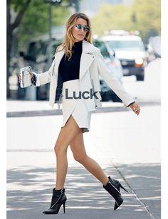 Blake Lively we wrześniowym numerze magazynu Lucky, fot.Patrick Demarchelier